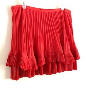 Banana Republic Double Pleated Skirt Size 12